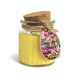 Bougie Chèvrefeuille cire de soja profitez du parfum doux et naturel