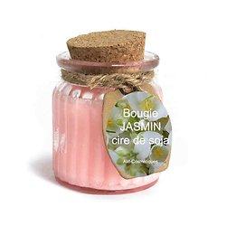 Bougie Jasmin cire de soja profitez du parfum doux et naturel