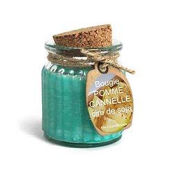 Bougie Pomme et Cannelle cire de soja profitez du parfum naturel