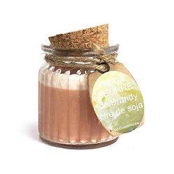 Bougie Beurre de Brandy cire de soja, parfum doux et naturel