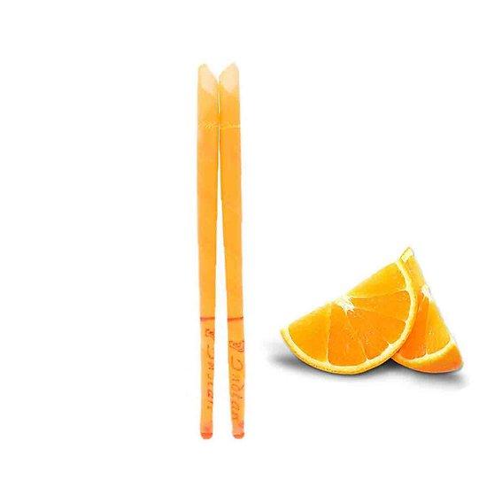 Bougie d'oreille Orange parfumée lot 2 bougies auriculaires