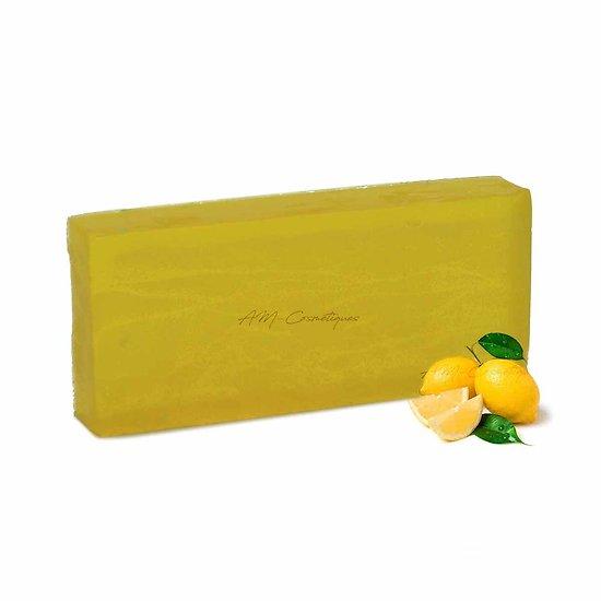 Savon aromathérapie Citron 100g parfum frais et coloris jaune vif