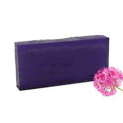 Savon aromathérapie Géranium en 100g violet parfum délicieux
