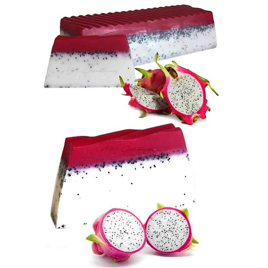 Savon Pitaya fruit du dragon artisanal paradis tropical 100g