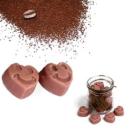 Fondant cire de soja Café Commerce mélange et huiles parfumées