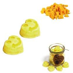 Fondant cire de soja Mangue mélange de cires et huiles parfumées
