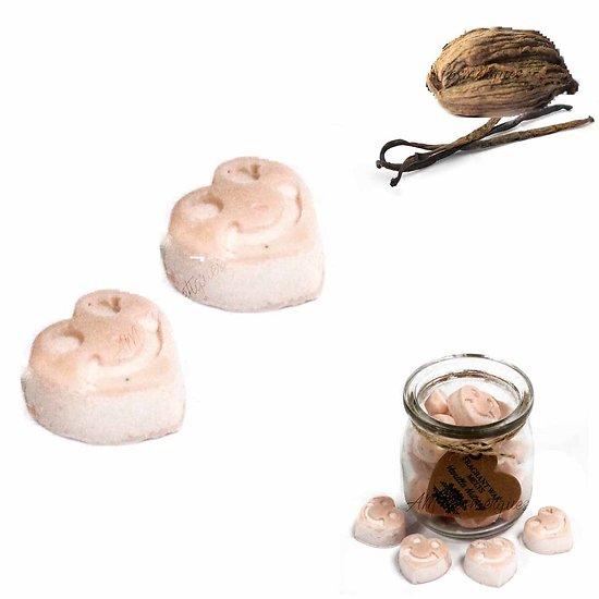 Fondant cire soja Noix de Muscade et Vanille et huiles parfumées