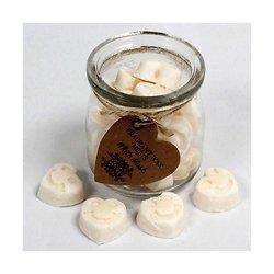 Fondant Musc Blanc coeur mélange cire de soja, huiles parfumées