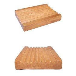 Porte savon Classique en bois Groovy pour faire sécher le savon