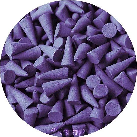 Cônes d'encens indien Violette couleur incroyable et parfum exotique