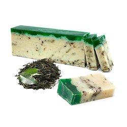 Savon Thé Vert à l'huile d'olive artisanal 100g nettoyez votre peau