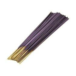 Bâtonnet d'encens Indien Lavande 25cm très parfumé et coloré