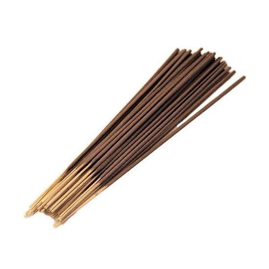 Bâtonnet d'encens Indien Vétiver Or 25cm très parfumé et coloré