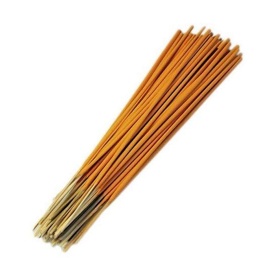 Bâtonnet d'encens Indien Pêche et Mangue 25cm parfumé, coloré