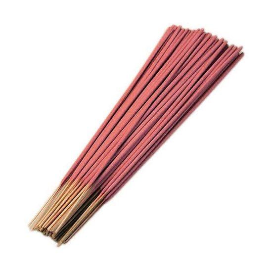 Bâtonnet d'encens Indien Fraise 25cm très parfumé et coloré