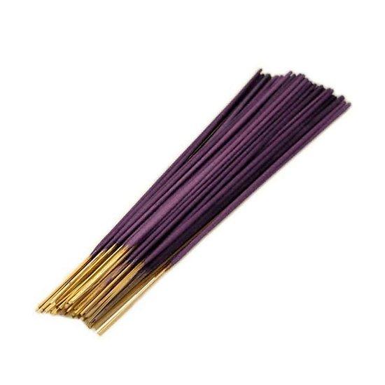Bâtonnet d'encens Indien Violette 25cm très parfumé et coloré