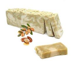 Savon Huile d'Argan avec l'huile d'olive artisanal 100g peau douce