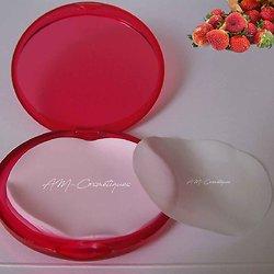 Feuilles de savon Fraise parfum fruité, utile et à emporter partout