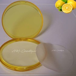 Feuilles de savon Citron parfum fruité, utile et à emporter partout