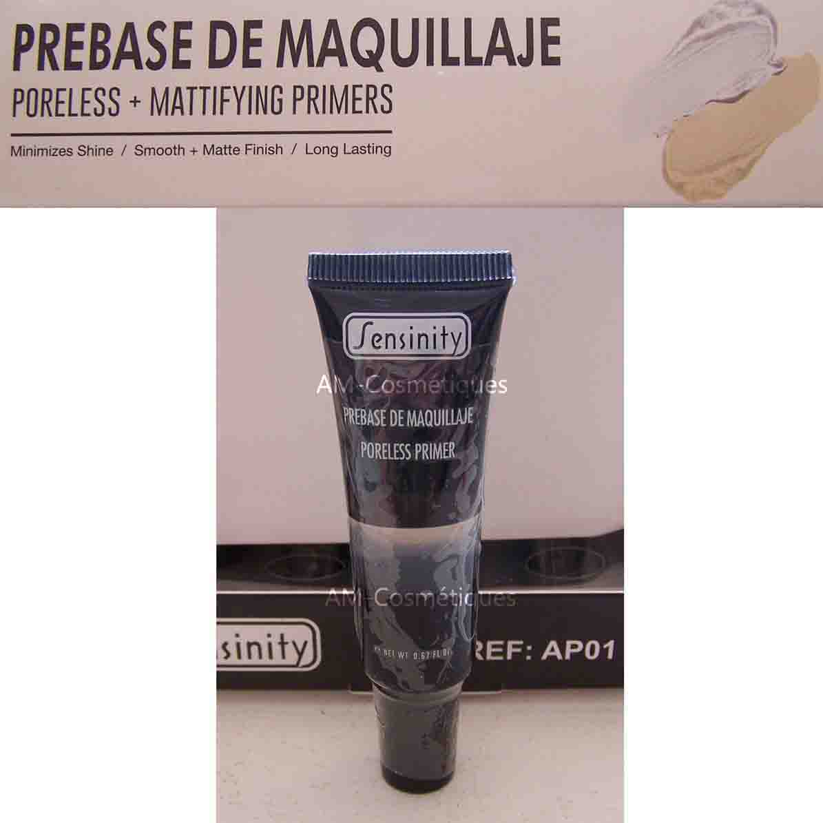 Base maquillage visage Transparente Make-Up Primer lissant Sensinity