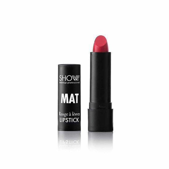 Rouge à Lèvres Rouge 05 Mat Velvet couleur vive Show By Mbk
