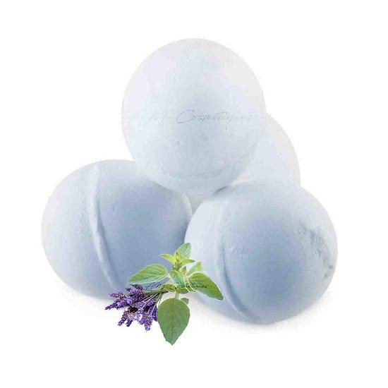 Boule de bain Lavande et Marjolaine bain relaxant huile essentielle