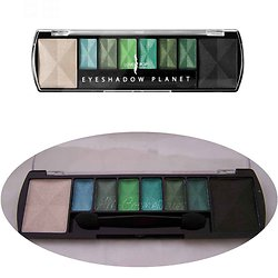 Palette Planet Earth avec 8 ombres à paupières Vert Lovely Pop