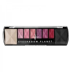 Palette Planet Mars avec 8 Ombres à paupières Rose Lovely Pop