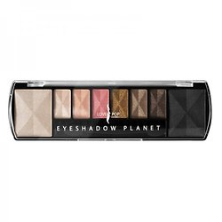 Palette Planet Saturn 8 Ombres à paupières maquillage Beige Lovely Pop
