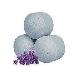 Mini boule de bain Lavande détente avec bombe bain parfum fleuri