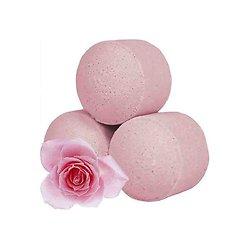 Mini boule de bain à la Rose détente avec bombe bain parfum fleuri
