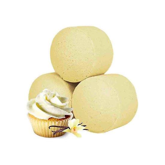 Mini boule bain Cupcake Vanille détente bombe bain gourmandise