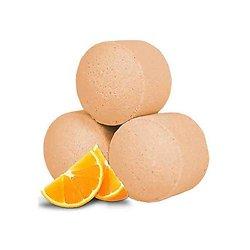 Mini boule de bain Orange Fraîche détente bain parfum fruité