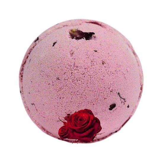 Boule de bain Bouquet de Roses véritables pétales bain relaxant