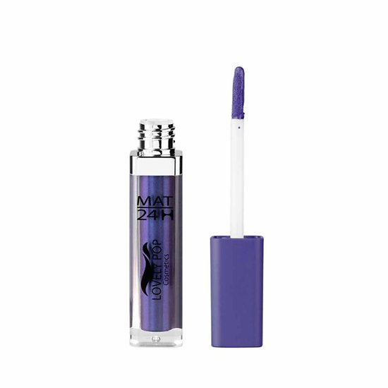 Rouge à lèvres liquide Mat Myrtille 13 violet mat 24h Lovely Pop