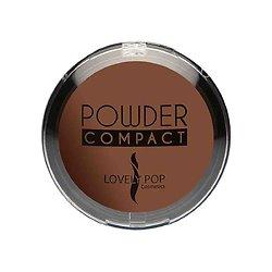 Poudre compacte Cappuccino 10 pour peaux ébènes Lovely Pop