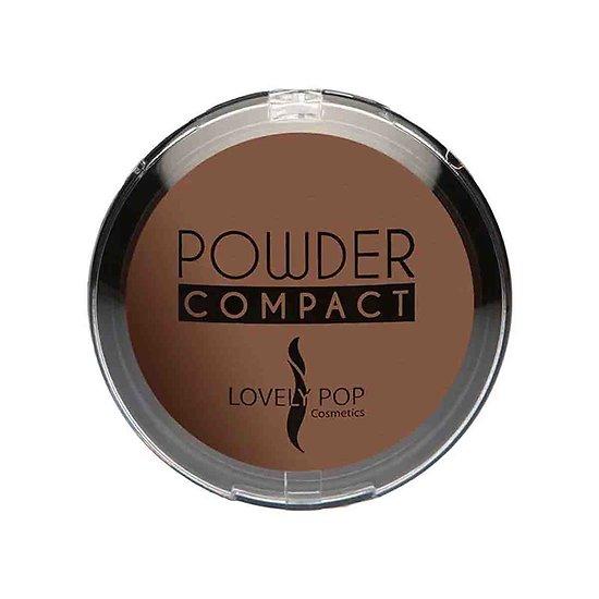 Poudre compacte Café 11 matifiante peaux ébènes Lovely Pop