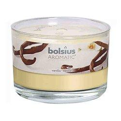 Bougie aromatique Vanille note douce pour toute la maison Bolsius