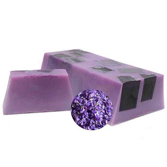 Savon Violette fabriqué artisanalement surprise gourmandise 100g