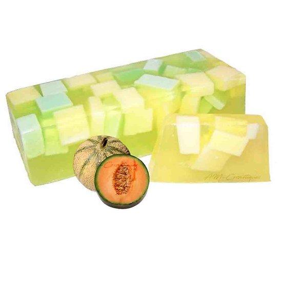 Savon Melon artisanal surprise et gourmandise fruitée en 100g