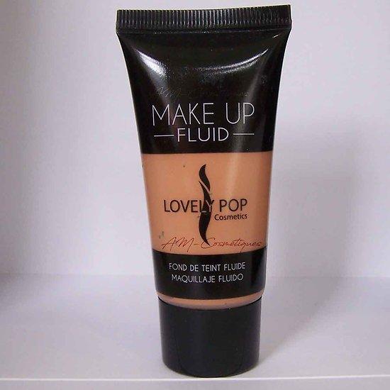 Fond de teint fluide Tan 04 Make up pour teint clair Lovely Pop