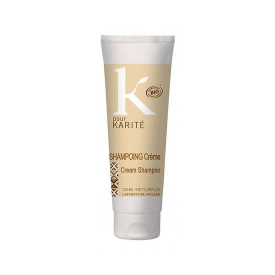 Shampooing crème Bio Argile et Karité tous types cheveux K pour Karité