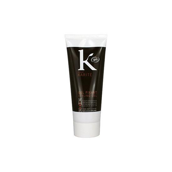 Gel fixant hommes Bio 150g fixation forte cheveux courts K pour Karité
