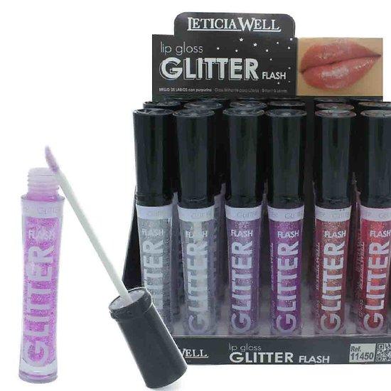 Gloss Glitter Flash mettez des paillettes sur vos lèvres Leticia Well