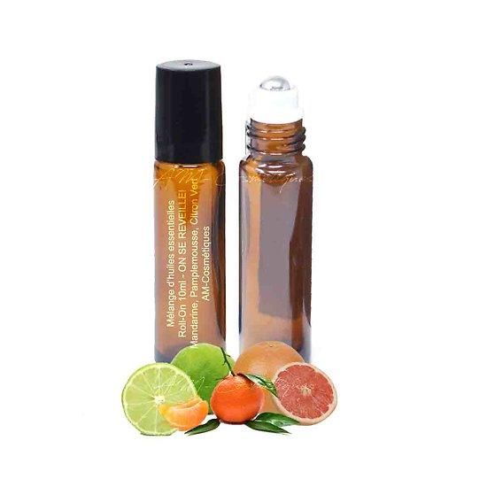 Huiles essentielles Réveil mélange mandarine, pamplemousse