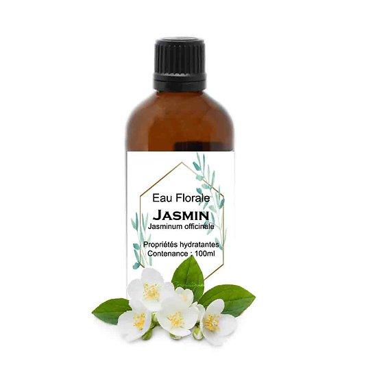 Eau Florale Jasmin 100ml tonifiante pour aider les peaux sèches