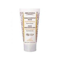 Masque Hydratant Argan Fleur d'Oranger Bio en 75ml peau douce Argandia