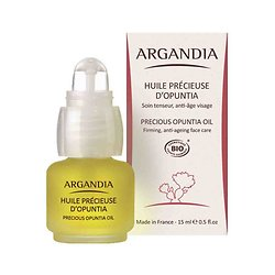 Huile de Figue de Barbarie pure Bio 15ml soin anti-âge visage Argandia