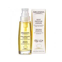 Huile Précieuse d'Argan Bio 50ml pour peau lisse et soyeuse Argandia