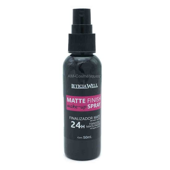 Matte Finish Make-up spray fixateur après maquillage Leticia Well